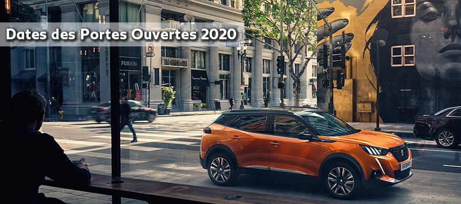 Calendrier Portes Ouvertes Automobile 2021 Dates des Portes Ouvertes 2020 | G. Nedelec